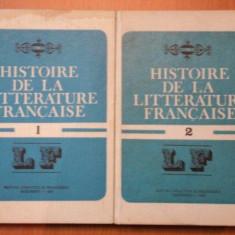 HISTOIRE DE LA LITTERATURE FRANCAISE VOL.I-II