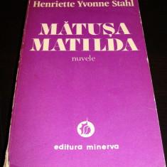 MATUSA MATILDA - Henriette Yvonne Stahl