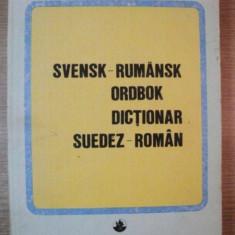 DICTIONAR SUEDEZ-ROMAN de STATE NICOLAI, STATE CORNELIA, 1990