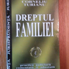 DREPTUL FAMILIEI de CORNELIU TURUIANU, 2004