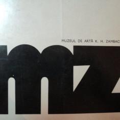 MUZEUL ZAMBACCIAN- CATALOG 1973 - Carte Istoria artei