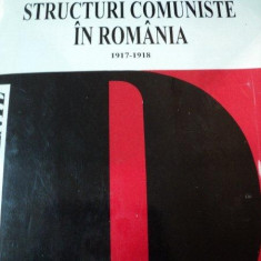 IDEOLOGIE SI STRUCTURI COMUNISTE IN ROMANIA 1917-1918, BUC. 1995 - Istorie