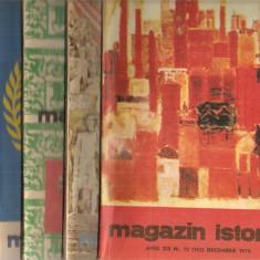 (C5124) MAGAZIN ISTORIC, ANUL XIII, 1979, NR. 1, 2, 3, 4, 5, 6, 7, 8, 10, 11, 12 - Revista culturale