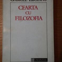 CEARTA CU FILOZOFIA-GABRIEL LIICEANU, BUC.1992 - Roman
