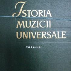 ISTORIA MUZICII UNIVERSALE - R.I. GRUBER VOL.II PARTEA I 1963 - Muzica Dance