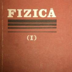 FIZICA VOL I de ION. M. POPESCU 1982 - Carte Matematica