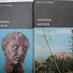 CETATEA ANTICA - FUSTEL DE COULQNGES -BUC.1984 VOL.I-II - Istorie