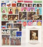 1814 - Lot timbre Romania nestampilate(39timbre+1colita)