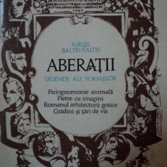 ABERATII-JURGIS BALTRUSAITIS, BUC.1972 - Carte Istoria artei
