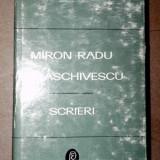 SCRIERI VOL 2(TRISTELE, TALMACIRI)-MIRON RADU PARASCHIVESCU 1969 - Roman
