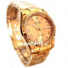 Rolex DateJust Gold Automatic ! ! ! Cea Mai Buna Calitate ! Cutie Cadou ! ! ! - Ceas barbatesc Rolex, Lux - elegant, Mecanic-Automatic, Inox, Analog