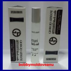 PARFUM BARBAT COLECTIA FEROMON GIORGIO ARMANI BLACK CODE 35ML - Parfum barbati Armani, Apa de toaleta