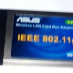 Vind un card PCMCIA  ASUS -Wireless LAN Card Bus Adaptor