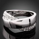 Inel Fashion Arinna Swarovski Crystal Model Foarte Frumos  -Marimea 6
