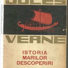 JULES VERNE --- ISTORIA MARILOR DESCOPERIRI  VOL I