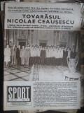 Revista Sport nr.13 / 1963 - Romania-Danemarca 3-2, foto, comentarii si reportaje