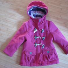 Paltonas iarna C&A, masura 98 cm, Culoare: Roz, Roz