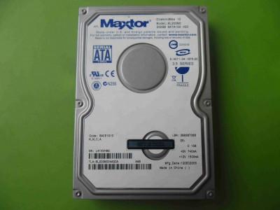 HDD 200GB Maxtor DiamondMax 10 6L200M0 ATA IDE - DEFECT foto