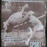 Lot 3 numere - Revista Sport 1977, nr. 6, 8, 12