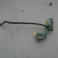Modul doua porturi USB IBM T60 IBM T61 P/N: 39T5624 - Port USB laptop Lenovo
