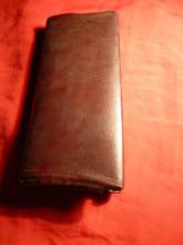 123123Toc vechi din piele pt. ochelari , L= 15,8 cm