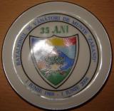 Farfurioara aniversara 1 Iunie 1969 - 1 Iunie 2004 35 ani , Batalionul 26 Vanatori de Munte Zarand