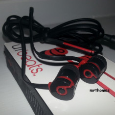 Monster Beats Tour by dr dre urbeats - Casti negre Monster Beats by Dr. Dre, Casti In Ear, Cu fir, Mufa 3, 5mm