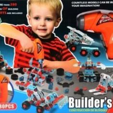 Set  Jucarii Scule si unelte Builders Fun 280 pcs