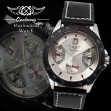 Ceas WINNER -  Barbatesc SKeleton Fashion Casual Automatic / Mecanic, Mecanic-Automatic, Inox