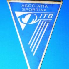 FANION ASOCIATIA SPORTIVA ITB BUCURESTI (01187) - Fanion fotbal