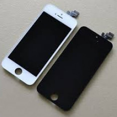 Lcd iPhone 5S albe negre / display / digitizer / touchscreen / ecran - Display LCD
