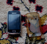 Vand Samsung Galaxy Mini 2, 4GB, Galben, Neblocat