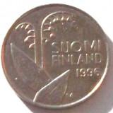 G5. FINLANDA 10 PENNIA 1996, 1.80 g., Copper-Nickel, 16.3 mm LACRAMIOARE **, Europa