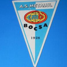 FANION A S METALUL BOCSA 1928 (01188) - Fanion fotbal