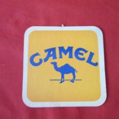 Suport pahar, cartonas reclama, biscuite Camel - Cartonas de colectie
