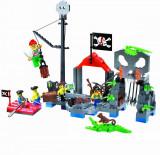 Corabia Adventure, joc constructie tip Lego cu Pirati - 206 piese