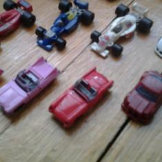 Set colectie lot 8 Surprize Kinder machete masini de epoca curse vintage formula 1 miniaturi miniatura serie anii 1990 originale - Surpriza Kinder