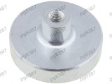 Magnet fix, neodim, 32x7mm, cu filet interior M5, Elesa+Ganter - 050531