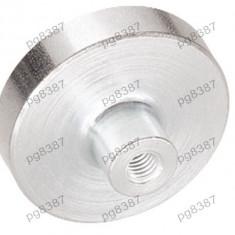 Magnet fix, ferita, 63x16mm, cu filet interior M8, Elesa+Ganter - 050524