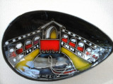Vas decorativ  din ceramica PICTATA - suvenir Venetia