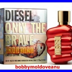 PARFUM BARBAT DIESEL ONLY THE BRAVE IRON MAN 75 ML - Parfum barbati Diesel, Apa de toaleta