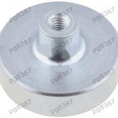 Magnet fix, neodim, 25x7mm, cu filet interior M4, Elesa+Ganter - 050530