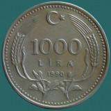 TURCIA KM#997   1000 Lira 1990