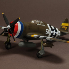 Macheta avion P-47D Republic - WAR MASTER - scara 1:72 - Macheta Aeromodel