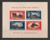 Romania.1948 Munca in comunicatii-colita  CR.73