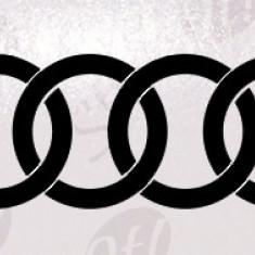 Audi_Sticker Auto_Tuning_CDEC-007-Dimensiune: 15 cm. X 6 cm. - Orice culoare, Orice dimensiune