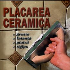 Placarea ceramica Gresie, faianta, piatra, rigips. Editura MAST