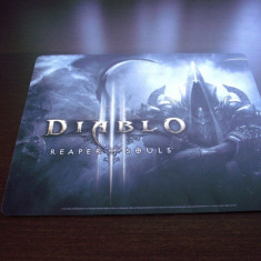 Mousepad - Diablo III Reaper of Souls ( Malthael Mousepad ), original Blizzard - Jocuri PC Ubisoft, Role playing, 16+, Multiplayer