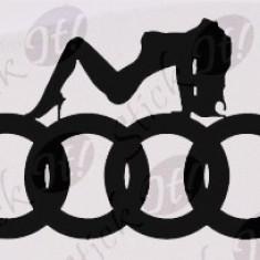 Audi_Sticker Auto_Tuning_CDEC-009-Dimensiune: 15 cm. X 9 cm. - Orice culoare, Orice dimensiune