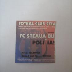 Steaua Bucuresti - Politehnica Iasi (sezon 2004-2005) - Program meci